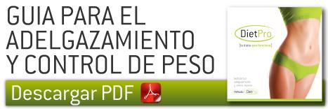Guia de adelgazamiento y control de peso en PDF