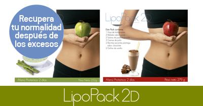Método de Compensación 2D - Lipo Pack 2D